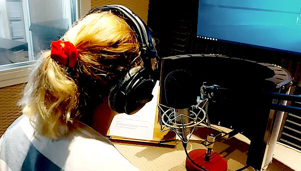 Voiceover studio in Hamble, Southampton, Hampshire
